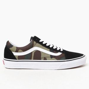 Vans Shoes - ✨brand new with tags and box!!! Camo Vans✨